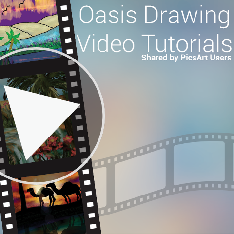 Oasis drawing tutorials