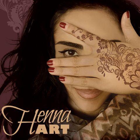 henna tattoo art clipart design
