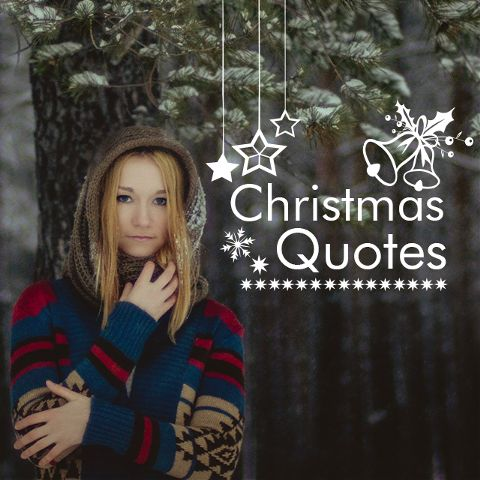 Christmas quotes clipart