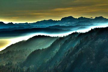 landscape nature switzerland forestmountain