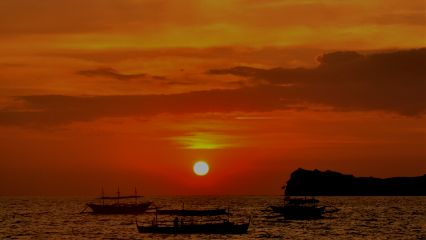 sky sun philippines beach