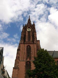 germany frankfurt summer travel church
