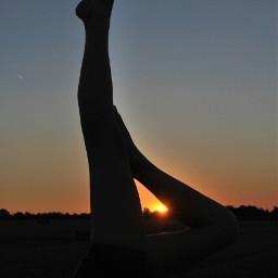 yogaposes summer sundown