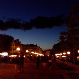 city people night_time