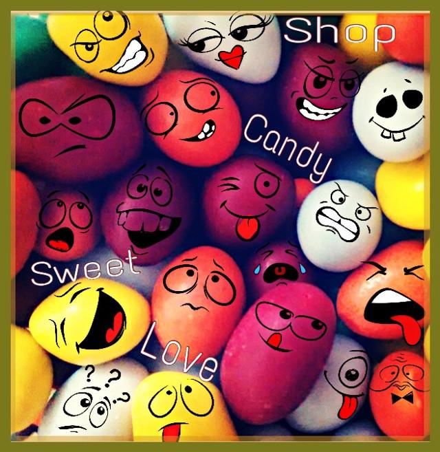 #yummyfood #dulces#food #gdcandyshop #popart #emotions #colorsplash #sticker #stickerart