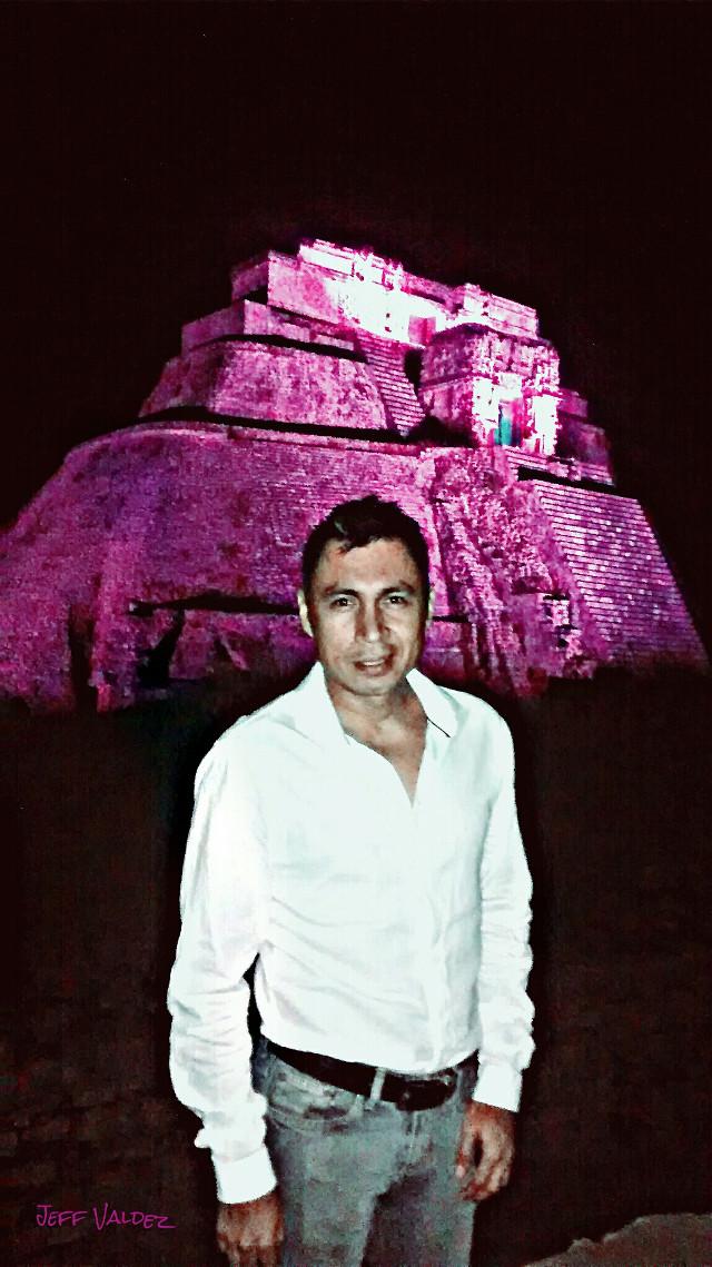 light&sound show at #Uxmal #Mexico