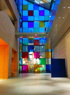colorful museum buren strasbourg