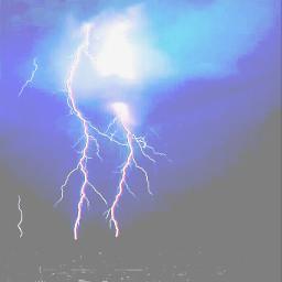 wapfilmeffect lightning photography sky nature
