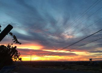 sky sunrise colorful beautiful morning