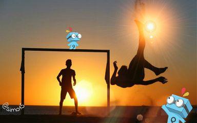 football sport sunset picsies fireball