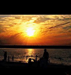 waplensflare sunset beach beautiful nature