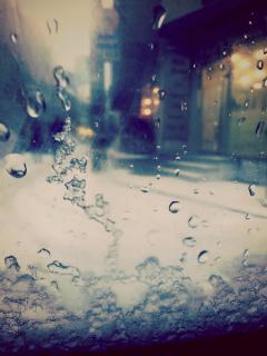 photography snow winter rain vintage