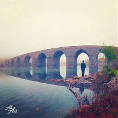 bridge travel river reflection photography