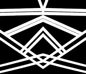 wapsymmetry acrylic painting black